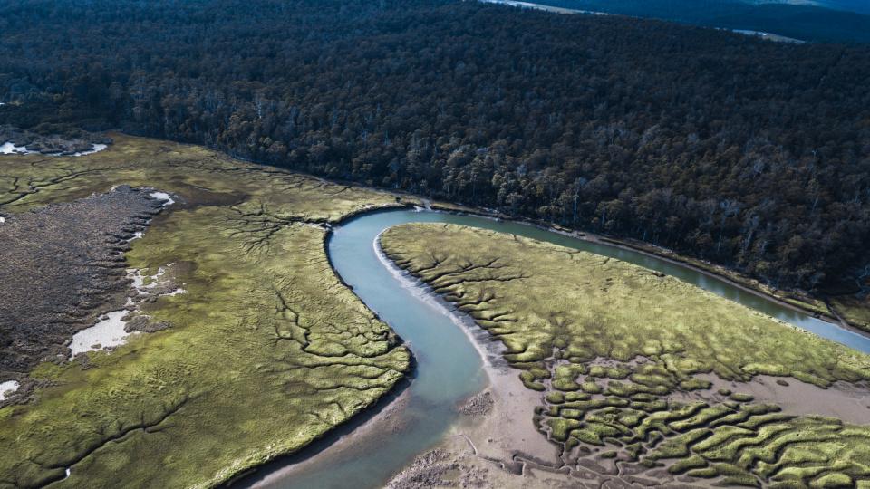 Tasmania Aerial